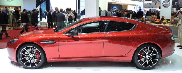 Salonul Auto de la Geneva 2013: Aston Martin Rapide primeste un S, plus 550 cai putere
