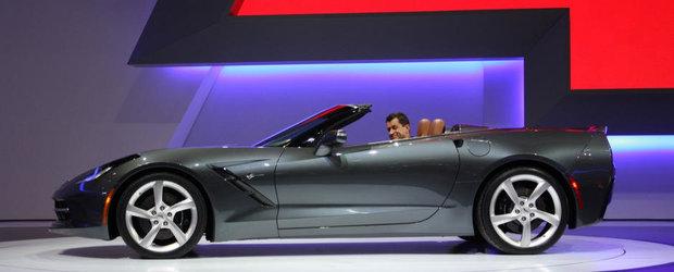 Salonul Auto de la Geneva 2013: Chevrolet Corvette Stingray renunta la acoperis, pastreaza cei 450 CP