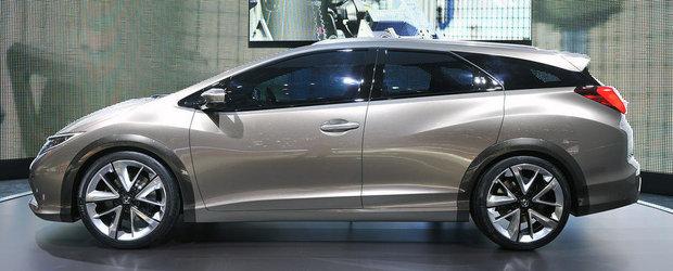 Salonul Auto de la Geneva 2013: Honda ne face cunostinta cu noul Civic Tourer Concept