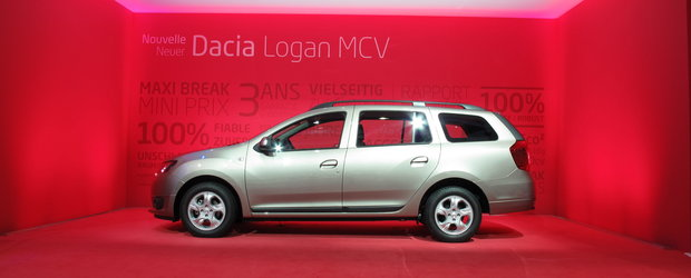 Salonul Auto de la Geneva 2013: Logan MCV si Duster Aventure, surprizele din standul Dacia