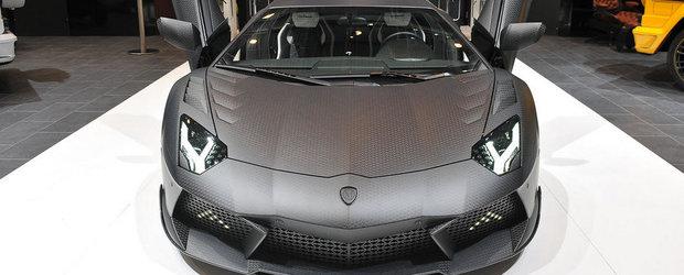 Salonul Auto de la Geneva 2013: Mansory Carbonado este versiunea terestra a infricosatorului B-2 Spirit