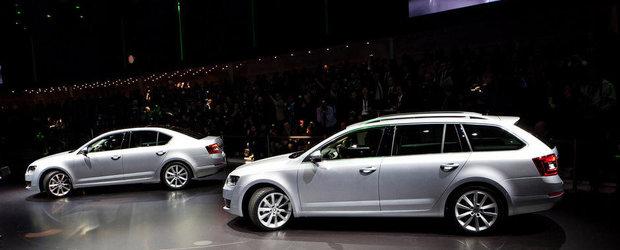 Salonul Auto de la Geneva 2013: Noua Skoda Octavia debuteaza in versiunile Sedan si Combi