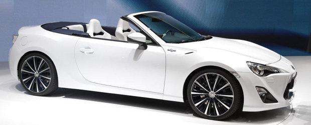 Salonul Auto de la Geneva 2013: Noua Toyota FT-86 Open Concept pozeaza topless