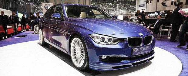 Salonul Auto de la Geneva 2013: Noul Alpina B3 Bi-Turbo se anunta o alternativa la viitorul BMW M3