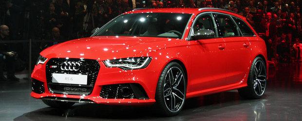 Salonul Auto de la Geneva 2013: Noul Audi RS6 Avant straluceste in lumina reflectoarelor