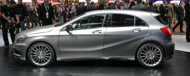Salonul Auto de la Geneva 2013: Noul Mercedes A45 AMG saluta iubitorii de hot-hatch-uri din intreaga lume