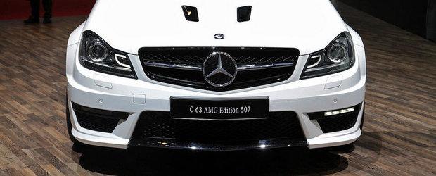 Salonul Auto de la Geneva 2013: Noul Mercedes C63 AMG Edition 507 beneficiaza de 507 CP si 610 Nm!