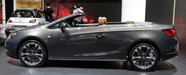 Salonul Auto de la Geneva 2013: Noul Opel Cascada pare gata pentru sezonul estival 2013