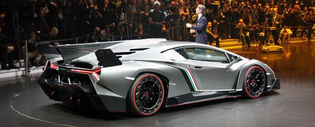 Salonul Auto de la Geneva 2013: Noul Veneno celebreaza 50 de ani de Lamborghini