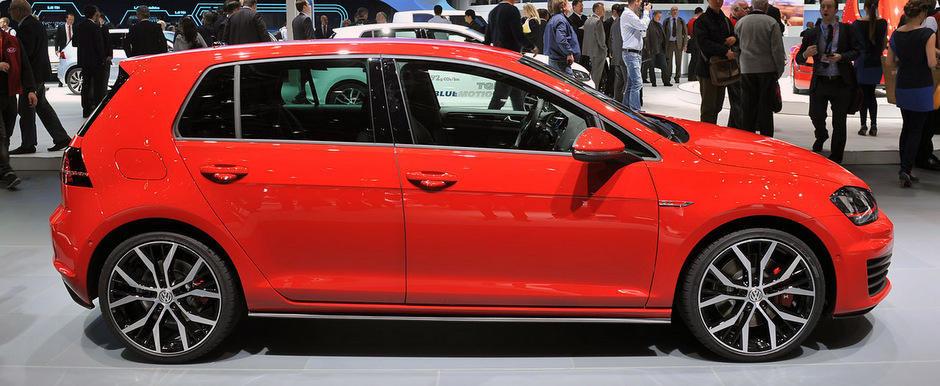 Salonul Auto de la Geneva 2013: Noul Volkswagen Golf GTI, oficial dezvaluit - Sa fie cu 220 sau 230 CP?