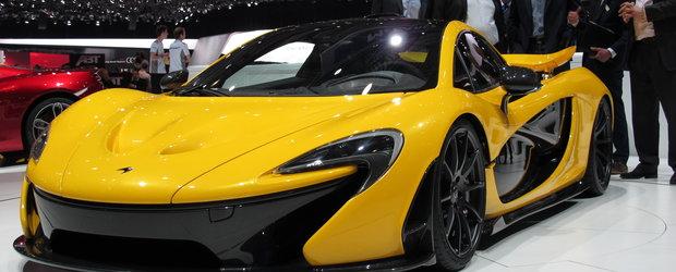 Salonul Auto de la Geneva 2013: standul McLaren