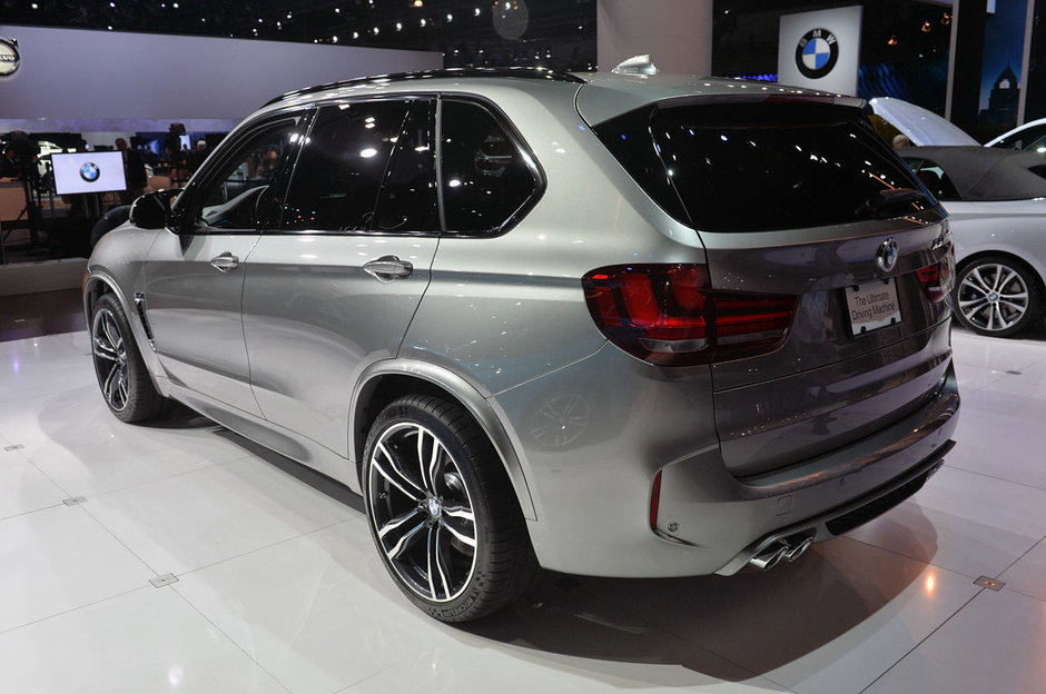 Salonul Auto de la Los Angeles 2014: BMW X5 si X6 M
