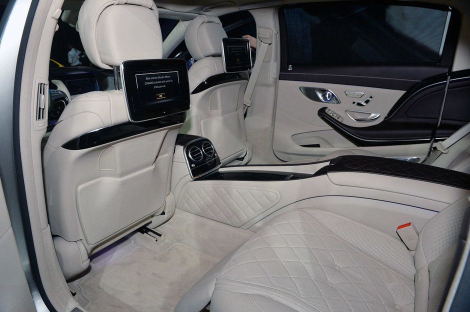 Salonul Auto de la Los Angeles 2014: Mercedes-Maybach S600