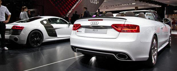 Salonul Auto de la Paris 2012: Audi RS5 renunta la acoperis, pastreaza cei 450 CP