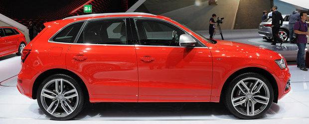 Salonul Auto de la Paris 2012: Audi SQ5 TDI este primul S diesel din istorie