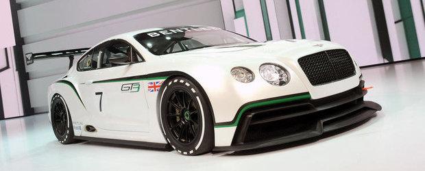 Salonul Auto de la Paris 2012: Bentley prezinta extremul Continental GT3