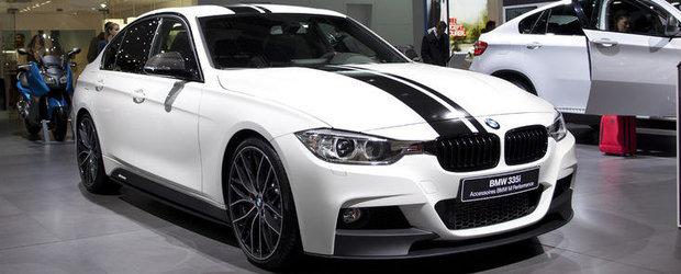 Salonul Auto de la Paris 2012: BMW Seria 3 cu bunatati M Performance