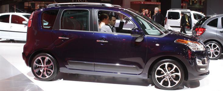 Salonul Auto de la Paris 2012: Citroen C3 Picasso, noua generatie de 'space box'