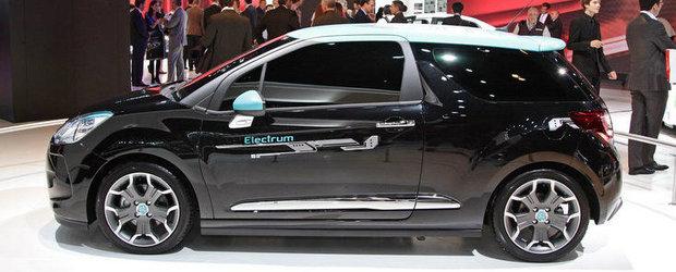 Salonul Auto de la Paris 2012: Citroen DS3 Electrum, masina de oras 'PLUGGED-IN'