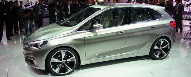 Salonul Auto de la Paris 2012: Concept Active Tourer este primul BMW cu tractiune fata din istorie
