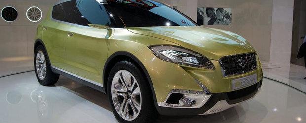 Salonul Auto de la Paris 2012: Cum arata Suzuki S-Cross Concept