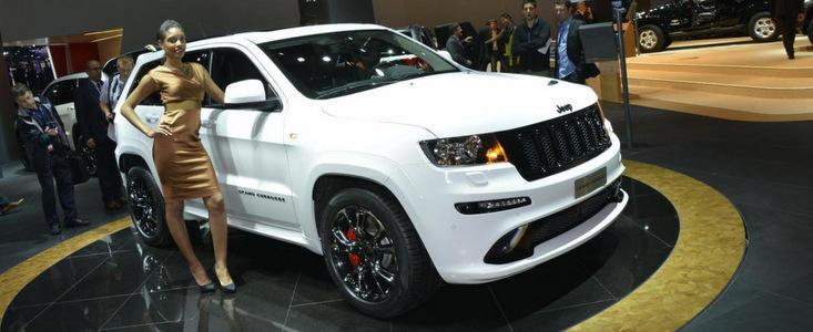 Salonul Auto de la Paris 2012: Editie limitata pentru Jeep Grand Cherokee SRT8