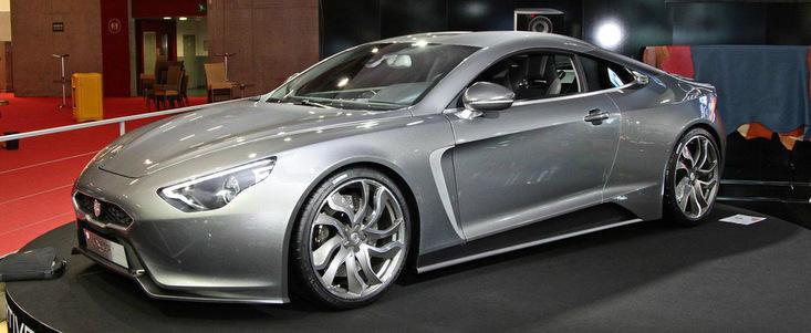 Salonul Auto de la Paris 2012: Exagon a lansat modelul electric Furtive e-GT