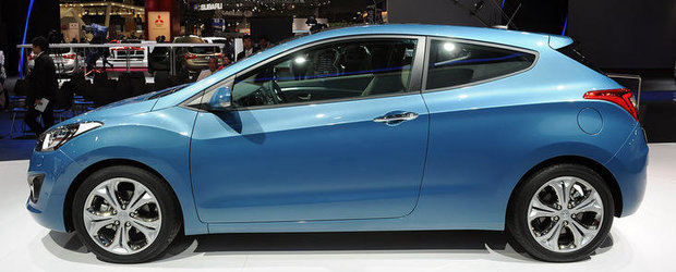 Salonul Auto de la Paris 2012: Hyundai introduce noul i30 in 3 usi