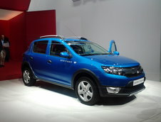 Salonul Auto de la Paris 2012: Imagini de la standul Dacia
