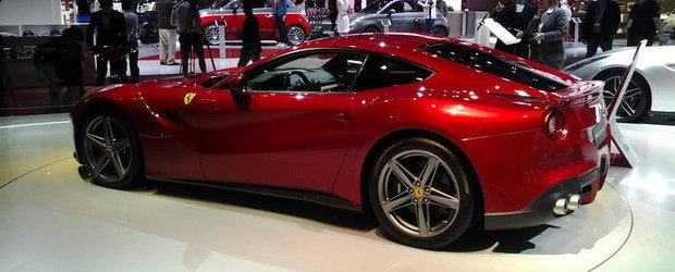 Salonul Auto de la Paris 2012: Imagini de la standul Ferrari