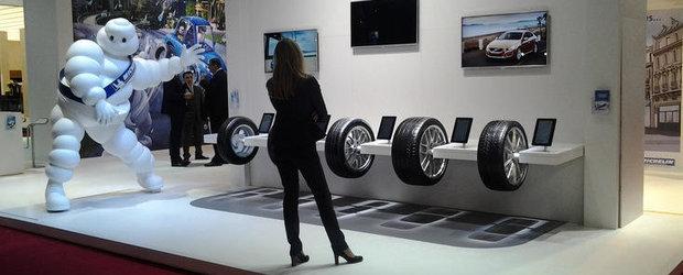 Salonul Auto de la Paris 2012: Imagini de la standul Michelin