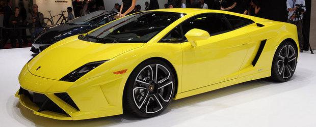 Salonul Auto de la Paris 2012: Lamborghini Gallardo primeste inca un facelift