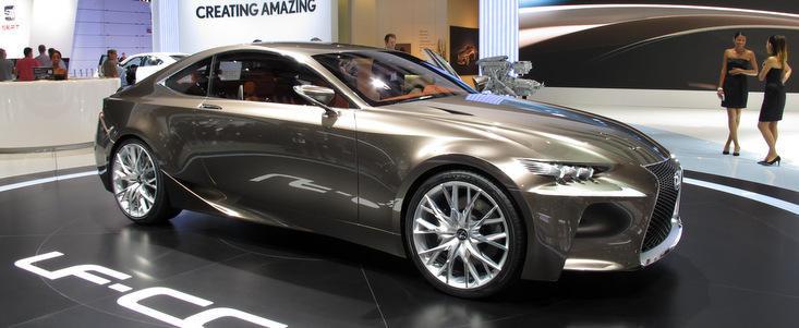 Salonul Auto de la Paris 2012: Lexus LF-CC Concept ne ofera o scurta incursiune in viitor