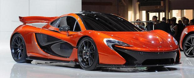 Salonul Auto de la Paris 2012: McLaren P1 straluceste in lumina reflectoarelor