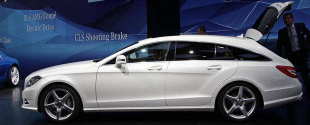 Salonul Auto de la Paris 2012: Mercedes CLS Shooting Brake inventeaza sexy-functionalitatea