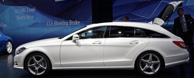 Salonul Auto de la Paris 2012: Mercedes CLS Shooting Brake inventeaza sexy-functionalitatea