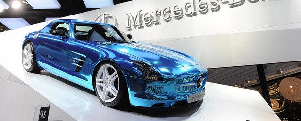 Salonul Auto de la Paris 2012: Mercedes SLS AMG Electric Drive electrizeaza Parisul!