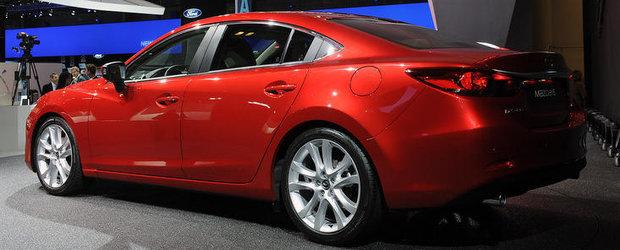 Salonul Auto de la Paris 2012: Noua Mazda6 combina eficienta cu senzualitatea