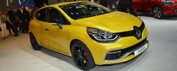 Salonul Auto de la Paris 2012: Noul Renault Clio RS Mk4, dezvaluit oficial