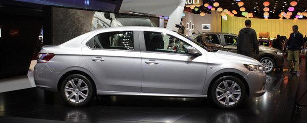 Salonul Auto de la Paris 2012: Peugeot 301 se pregateste sa ia cu asalt pietele emergente