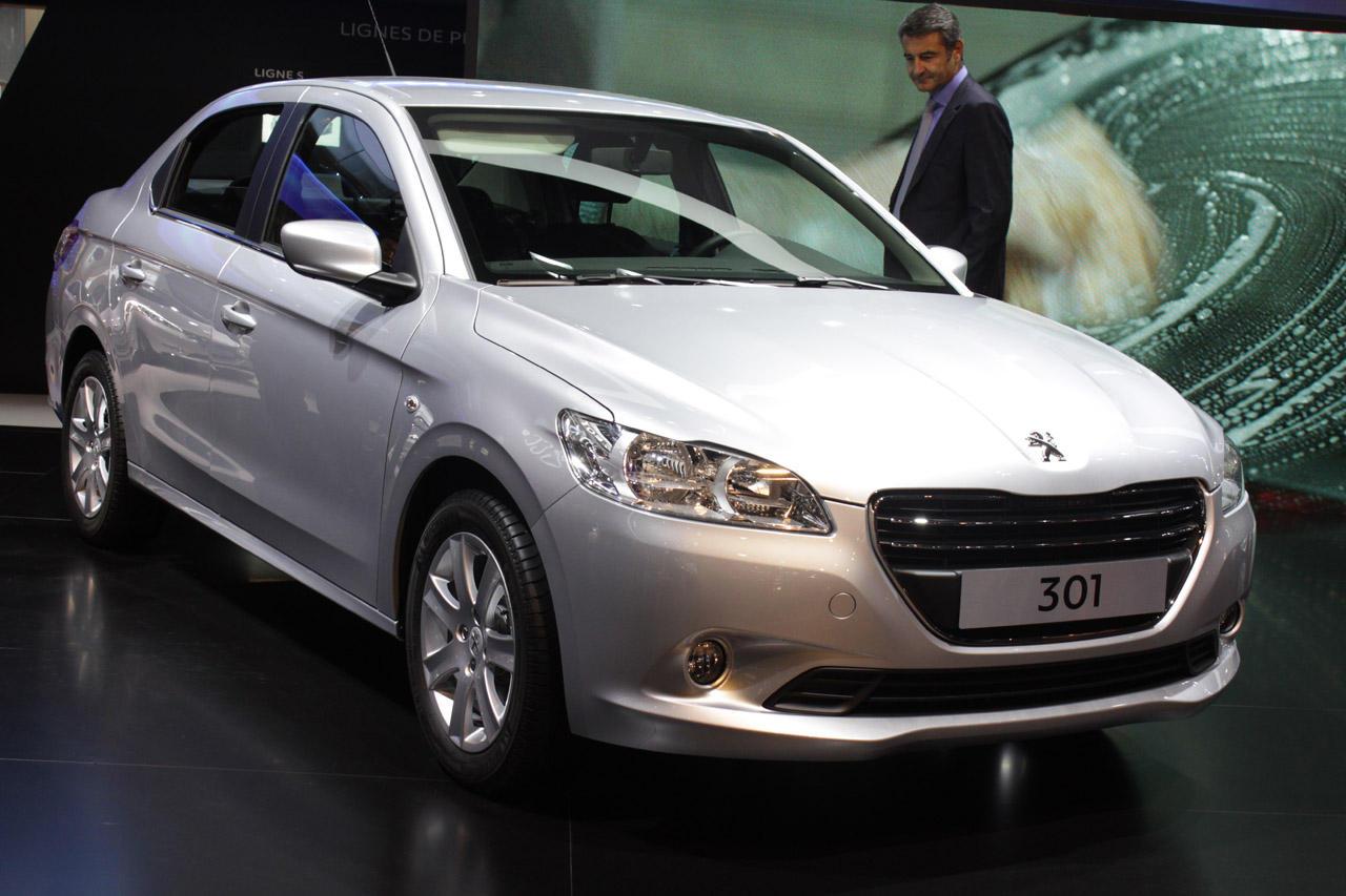 Salonul Auto de la Paris 2012: Peugeot 301 - Salonul Auto de la Paris 2012: Peugeot 301