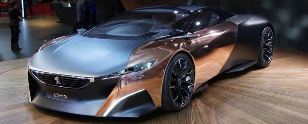 Salonul Auto de la Paris 2012: Peugeot prezinta conceptul Onyx