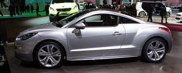 Salonul Auto de la Paris 2012: Peugeot RCZ primeste primul facelift din cariera sa