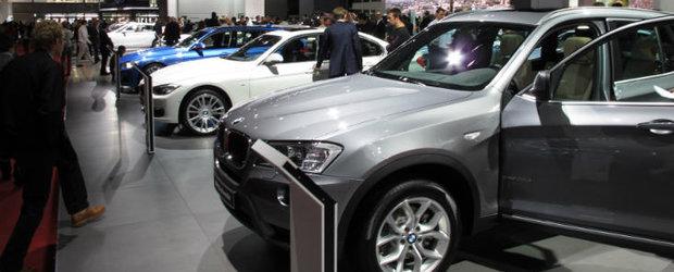 Salonul Auto de la Paris 2012: poze cu masinile din standul BMW