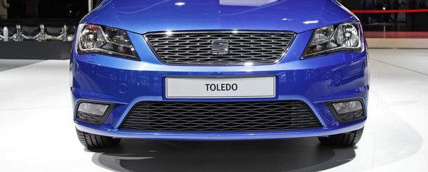 Salonul Auto de la Paris 2012: Seat Toledo ni se arata pentru prima oara in metal si plastic