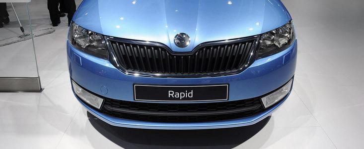 Salonul Auto de la Paris 2012: Skoda Rapid ni se arata pentru prima oara in metal si plastic