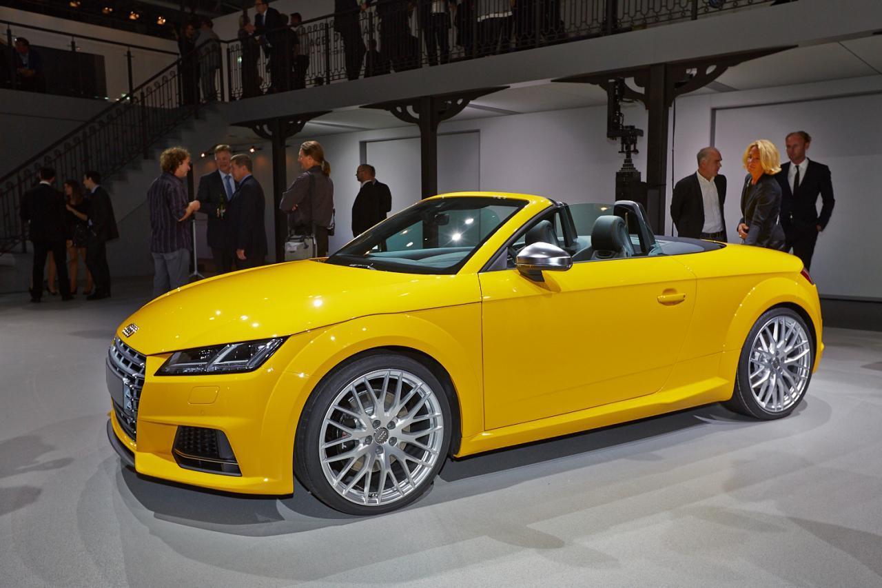 Salonul Auto de la Paris 2014: Audi TT Roadster - Salonul Auto de la Paris 2014: Audi TT Roadster