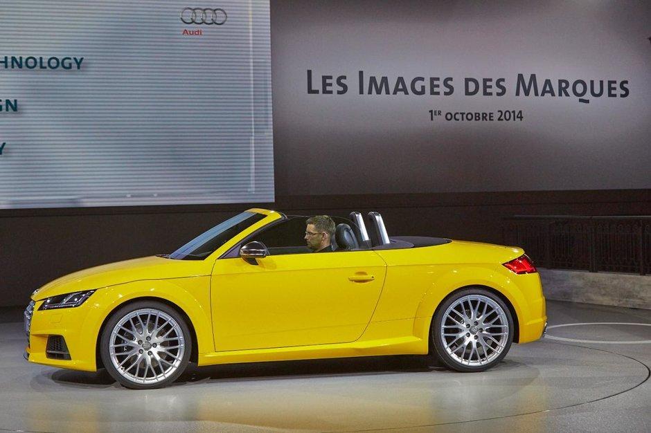 Salonul Auto de la Paris 2014: Audi TT Roadster