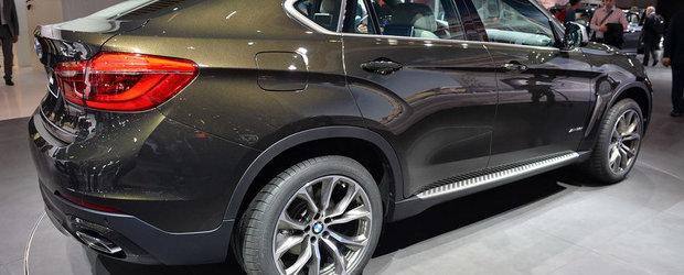 Salonul Auto de la Paris 2014: BMW X6 continua... sa o arda dubios