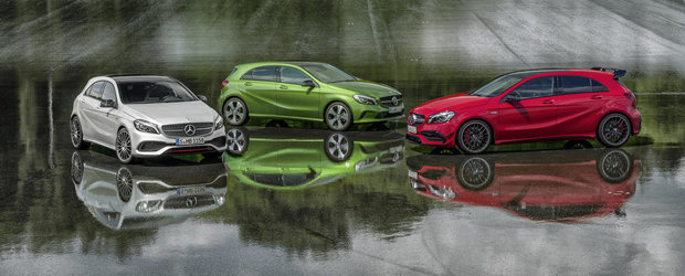 Salonul de la Frankfurt 2015: Facelift si upgrade tehnic pentru Mercedes A-Class